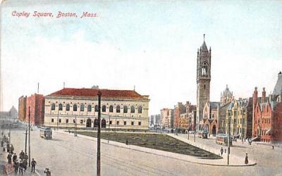 Copley Square Boston, Massachusetts Postcard