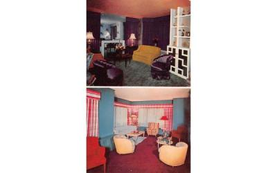 The Lohengrin Suite & Suite Moderne Brookline, Massachusetts Postcard
