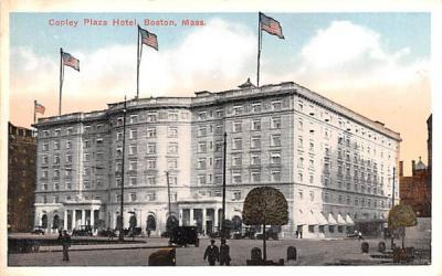Copley Plaza Hotel Boston, Massachusetts Postcard