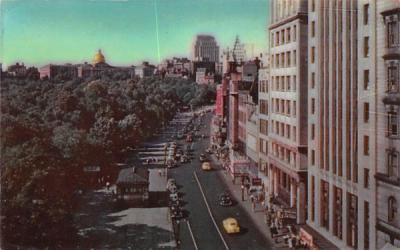 A General View of Tremont Street  Boston, Massachusetts Postcard