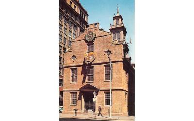 The Old State House Boston, Massachusetts Postcard