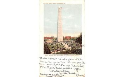 Bunker Hill Monument Boston, Massachusetts Postcard