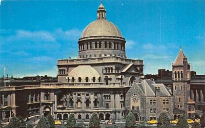 The Mother Church of Christian Science Boston, Massachusetts Postcard