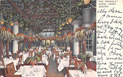 The Pergola Boston, Massachusetts Postcard