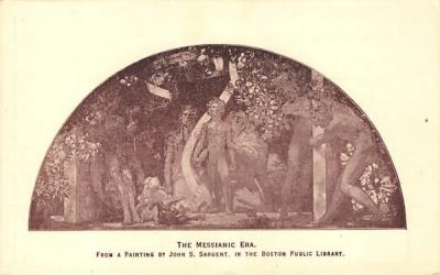 The Messianic Era Boston, Massachusetts Postcard