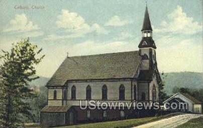 Catholic Church - Misc, Massachusetts MA Postcard