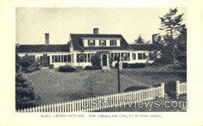 Capt. Lewis Cottage, The Pines - Cotuit, Massachusetts MA Postcard