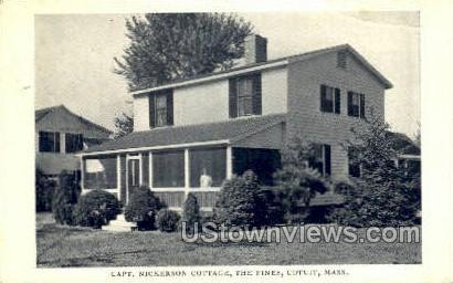 Capt. Nickerson Cottage, The Pines - Cotuit, Massachusetts MA Postcard