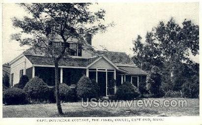 The Pines - Cotuit, Massachusetts MA Postcard