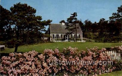 Cape Cod House - Massachusetts MA Postcard
