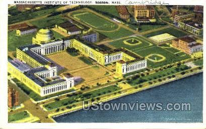 Mass Institute of Technology - Cambridge, Massachusetts MA Postcard