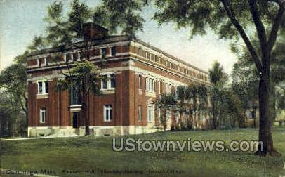 Harvard College - Cambridge, Massachusetts MA Postcard