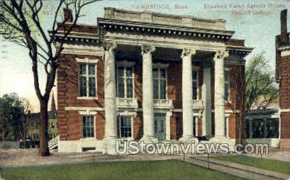 Radcliffe College - Cambridge, Massachusetts MA Postcard