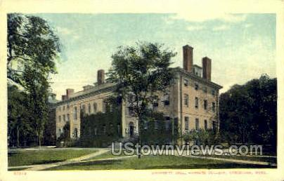University Hall, Harvard College - Cambridge, Massachusetts MA Postcard