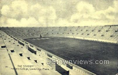 The Stadium, harvard College - Cambridge, Massachusetts MA Postcard