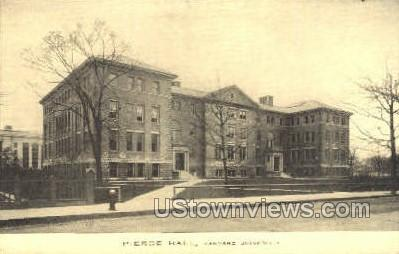 Pierce Hall, Harvard University - Cambridge, Massachusetts MA Postcard