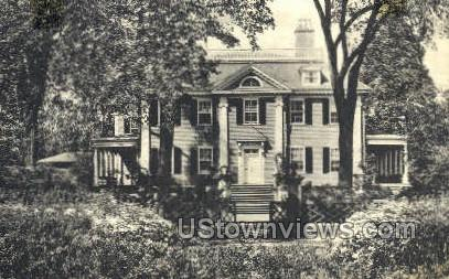 The Longfellow House - Cambridge, Massachusetts MA Postcard