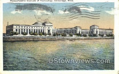 Mass. Institute of Technology - Cambridge, Massachusetts MA Postcard