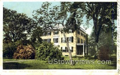Home of James Russell Lowell - Cambridge, Massachusetts MA Postcard