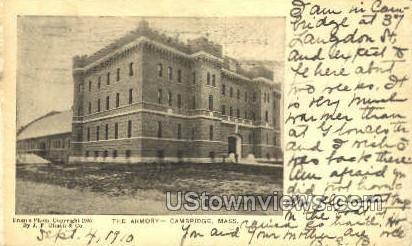 The Armory - Cambridge, Massachusetts MA Postcard