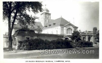Busch-Reisinger Museum - Cambridge, Massachusetts MA Postcard