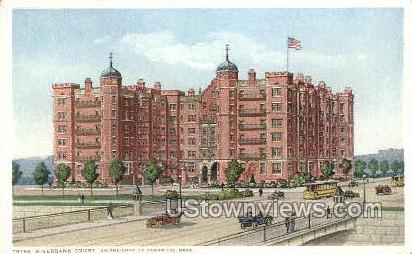 Riverbank Court - Cambridge, Massachusetts MA Postcard