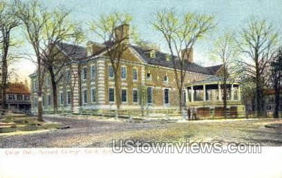 Union Hall, Hervard College - Cambridge, Massachusetts MA Postcard