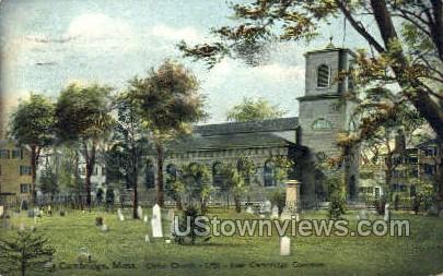 Christ Church - Cambridge, Massachusetts MA Postcard