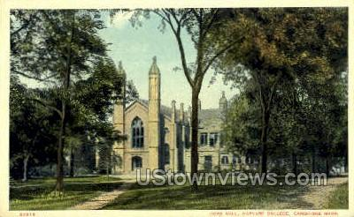 Gore Hall, Harvard University - Cambridge, Massachusetts MA Postcard