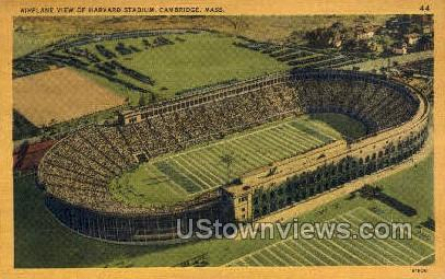 Harvard Stadium - Cambridge, Massachusetts MA Postcard
