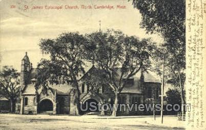 St. James Episcopal Church - Cambridge, Massachusetts MA Postcard