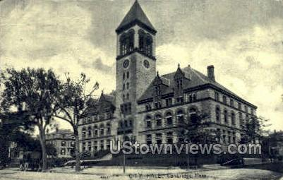 City Hall - Cambridge, Massachusetts MA Postcard