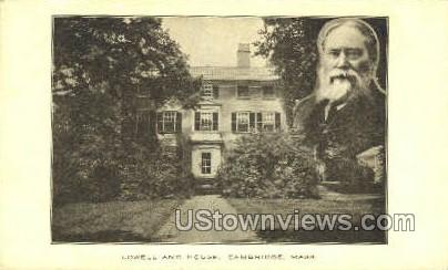 Lowell House - Cambridge, Massachusetts MA Postcard