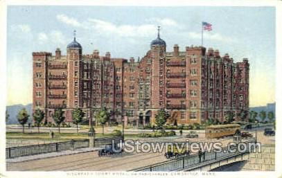 Riverbank Court Hotel - Cambridge, Massachusetts MA Postcard