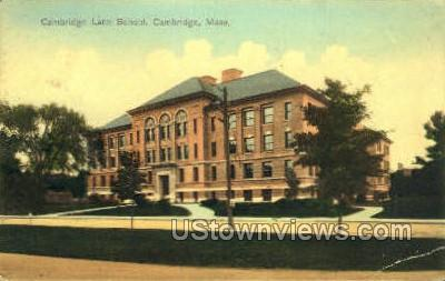 Cambridge Latin School - Massachusetts MA Postcard