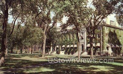 University Hall, Harvard College - Cambridge, Massachusetts MA Postcard