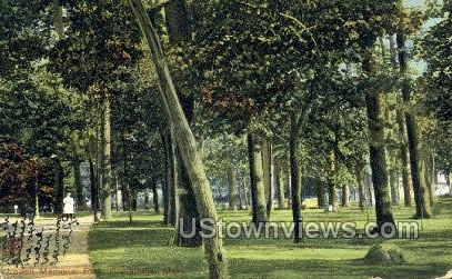 Lowell Memorial Park - Cambridge, Massachusetts MA Postcard