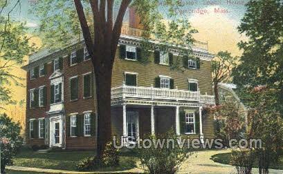 Russell Lowell House - Cambridge, Massachusetts MA Postcard