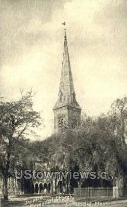 Shepard Memorial Church - Cambridge, Massachusetts MA Postcard