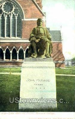 Harvard College - Cambridge, Massachusetts MA Postcard