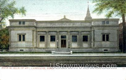 Fogg Museum of Art - Cambridge, Massachusetts MA Postcard