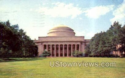 Mass Institute of Technology - Cambridge, Massachusetts MA Postcard