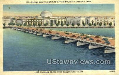 Mass. Institute of Technology - Cambridge, Massachusetts MA Postcard