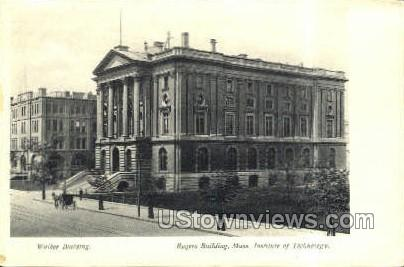 Rogers Building, M.I.T. - Cambridge, Massachusetts MA Postcard