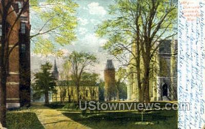 Harvard Grounds - Cambridge, Massachusetts MA Postcard