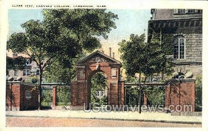 Class 1857, Harvard College - Cambridge, Massachusetts MA Postcard