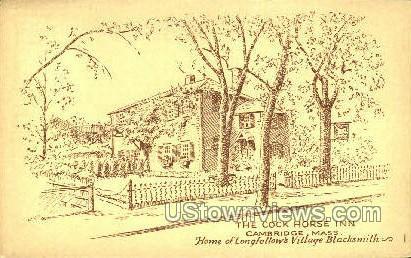 The Cock Horse Inn - Cambridge, Massachusetts MA Postcard