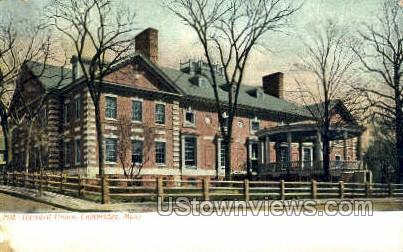 Harvard Union - Cambridge, Massachusetts MA Postcard