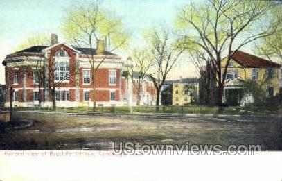 Radcliffe College - Cambridge, Massachusetts MA Postcard