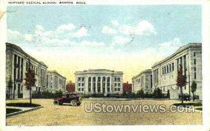 Harvard Medical School - Cambridge, Massachusetts MA Postcard